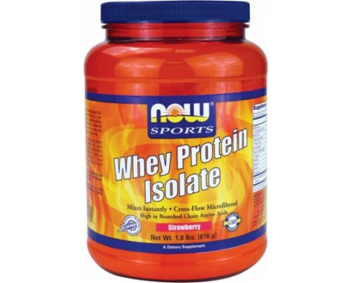 NOW Whey Protein Isolate 1.8 Lbs.