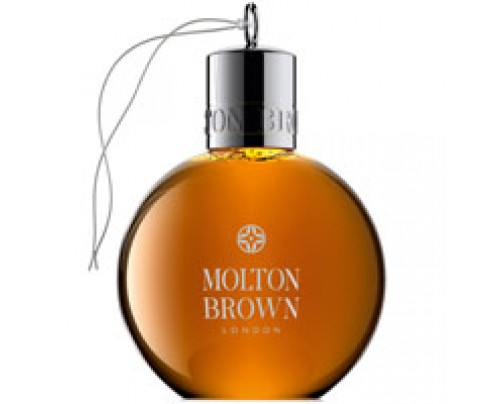 Molton Brown Black Peppercorn Body Wash Festive Bauble 2.5 oz
