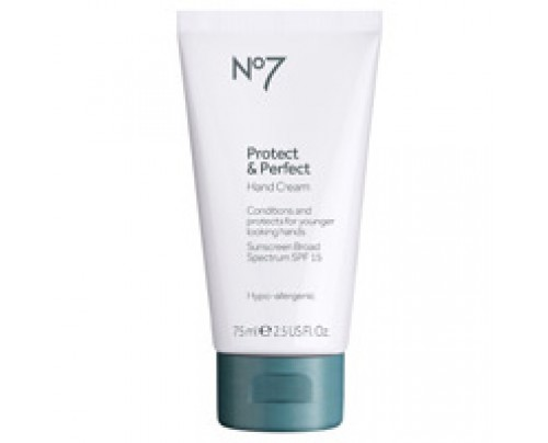 Boots No7 Protect and Perfect Hand Cream SPF 15 2.5 oz