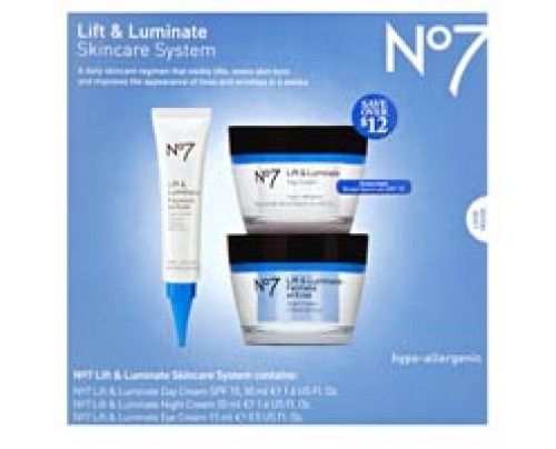 Boots No7 Lift and Luminate Skincare Kit