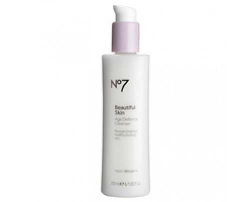 Boots No7 Beautiful Skin Age Defence Cleanser 6.7 oz
