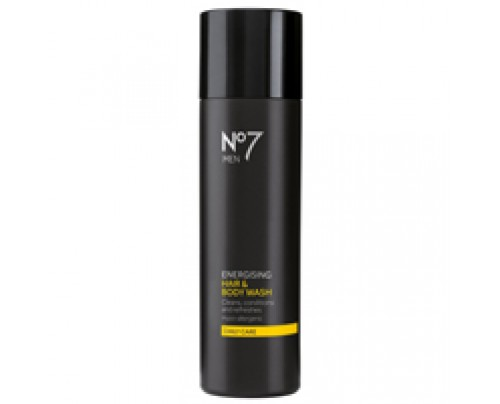Boots No7 Men Energising Hair and Body Wash 6.76 oz