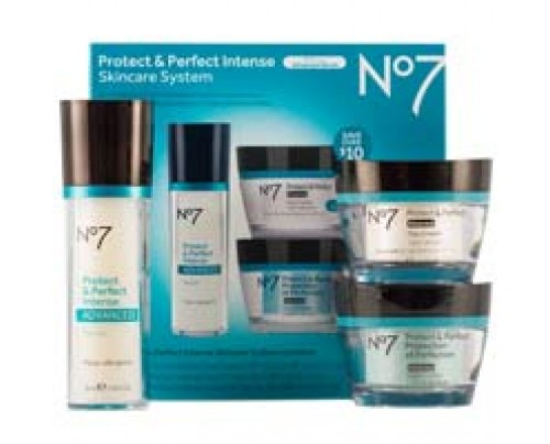 Boots No7 Protect and Perfect Intense Skincare System