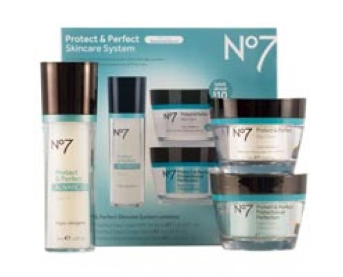 Boots No7 Protect and Perfect Skincare System