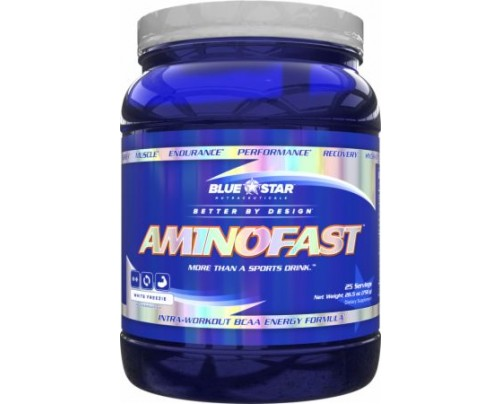 Blue Star Nutraceuticals Aminofast White Freezie 25 Servings - Amino Acids & BCAAs