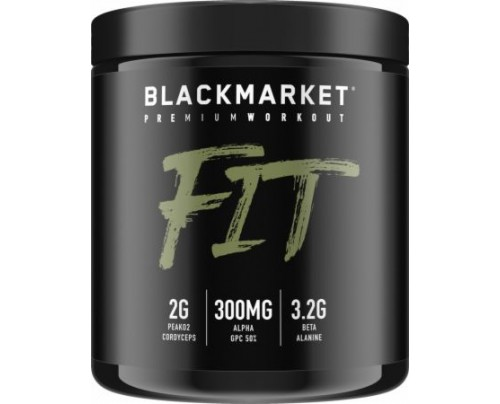 Blackmarket Fit Preworkout WODermelon 30 Servings - Pre-Workout Supplements