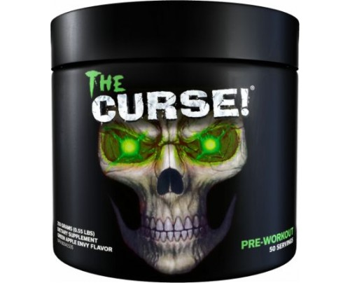 COBRA LABS The Curse! Green Apple Envy 50 Servings - Pre-Workout Supplements