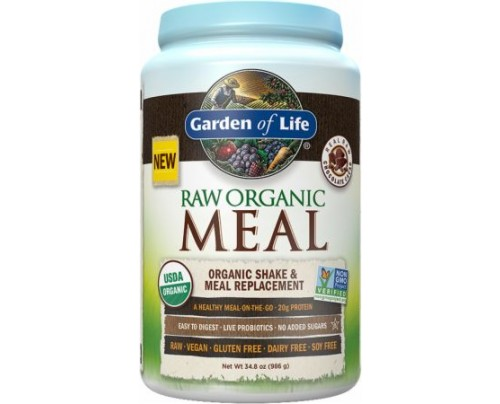 Garden Of Life RAW Organic Meal Chocolate Cacao 28 Servings - Meal Replacement