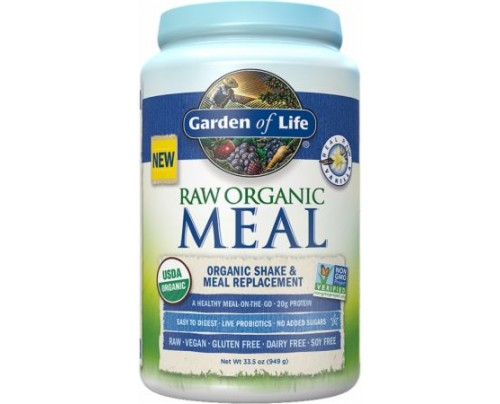 Garden Of Life RAW Organic Meal Vanilla 28 Servings - Meal Replacement
