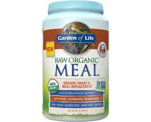 Garden Of Life RAW Organic Meal Vanilla Spiced Chai 28 Servings - Meal Replacement