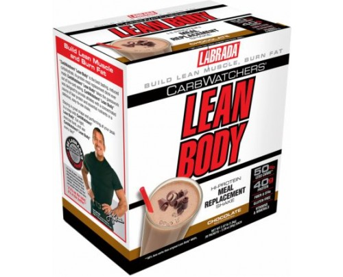 Labrada Carb Watchers Lean Body MRP Chocolate 20 Packets - Meal Replacement