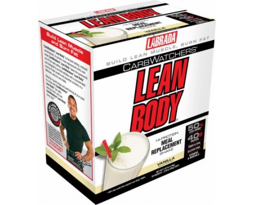 Labrada Carb Watchers Lean Body MRP Vanilla 20 Packets - Meal Replacement