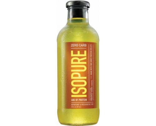 Nature's Best Zero Carb Isopure Drink Pineapple Orange Banana 12 Bottles - Protein Ready-To-Drink Shakes