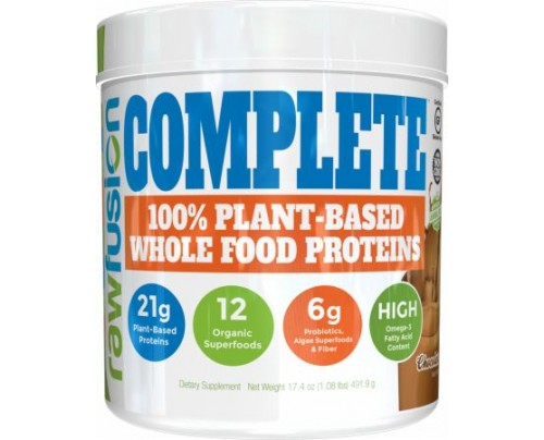 S.A.N. Rawfusion Complete Natural Chocolate 1 Lb. - Meal Replacement