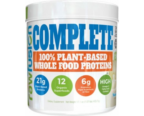 S.A.N. Rawfusion Complete Natural Vanilla 1 Lb. - Meal Replacement