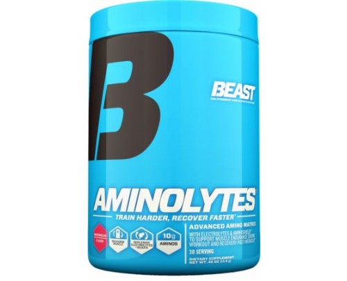Beast Sports Nutrition Aminolytes Watermelon 30 Servings - During Workout
