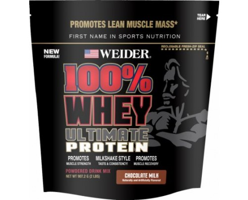 Weider 100% Whey Ultimate Chocolate Milk 2 Lbs. - Whey Protein Concentrate