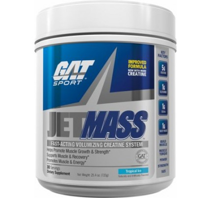 GAT JetMASS Tropical Ice 30 Servings - Post-Workout Recovery